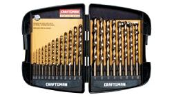 Craftsman Professional 21 pc. Cobalt Drill Bit Set