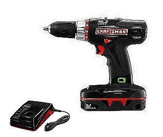 17310R Reconditioned Craftsman 19.2V Lithium Ion Compact Drill Driver with Case at Sears.com