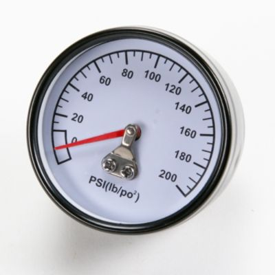 Air Compressor Pressure Gauge, 200-PSI Part Z-D27212