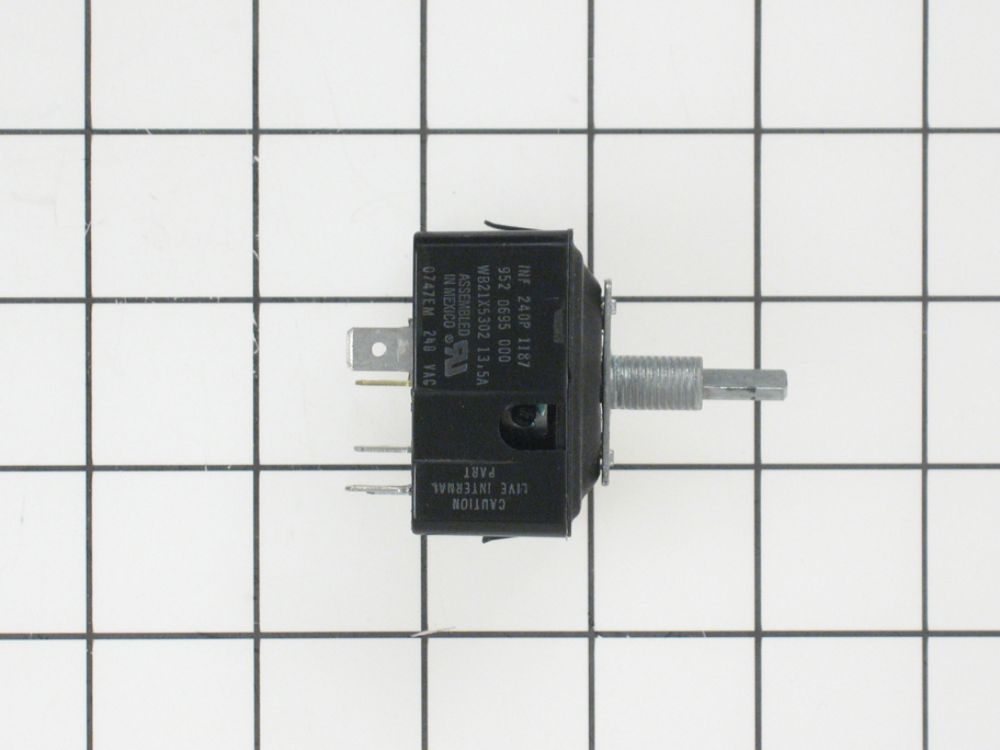 Cooktop Element Control Switch Part WB23X10009