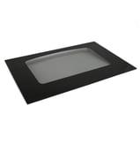 Range Oven Door Outer Panel (Black)
