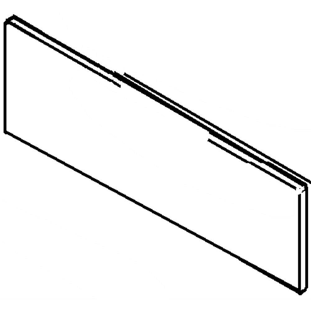 Range Oven Door Middle Glass