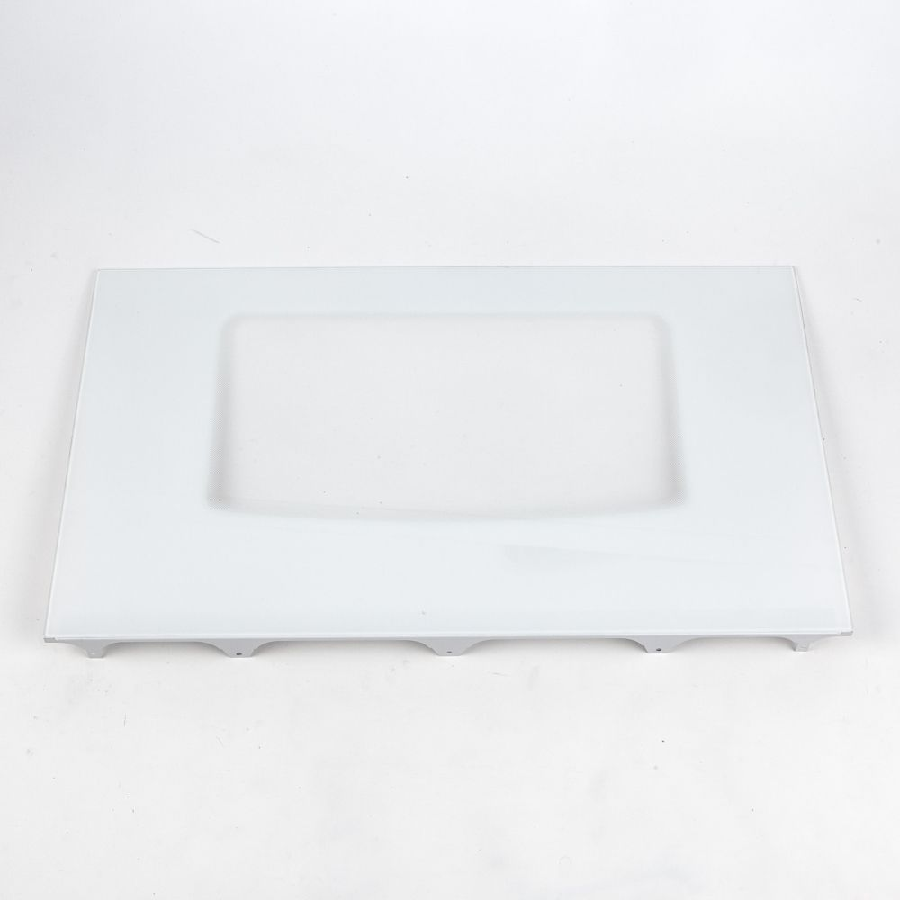 Range Oven Door Outer Panel Assembly (White) Part 318187715