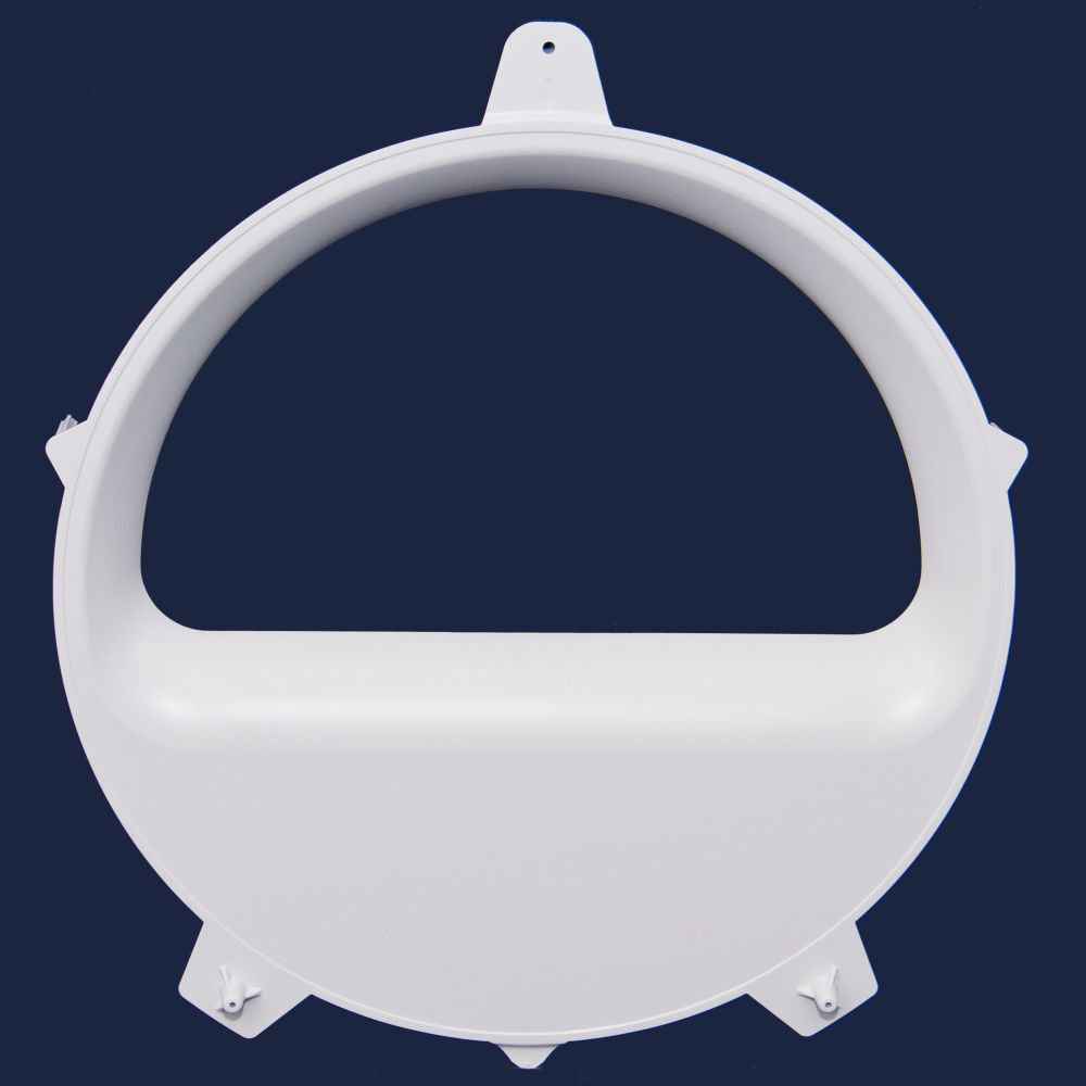 Dryer Window (White)