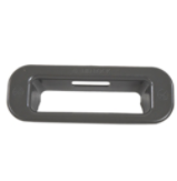 Washer Lid Lock Bezel (Chrome Shadow)