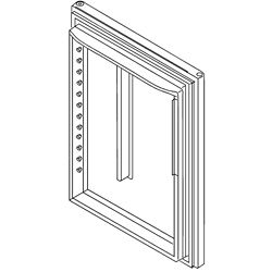 Refrigerator Door Assembly (White)
