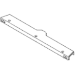 Refrigerator Door Hinge Cover Assembly