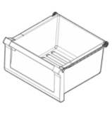Refrigerator Crisper Drawer Assembly