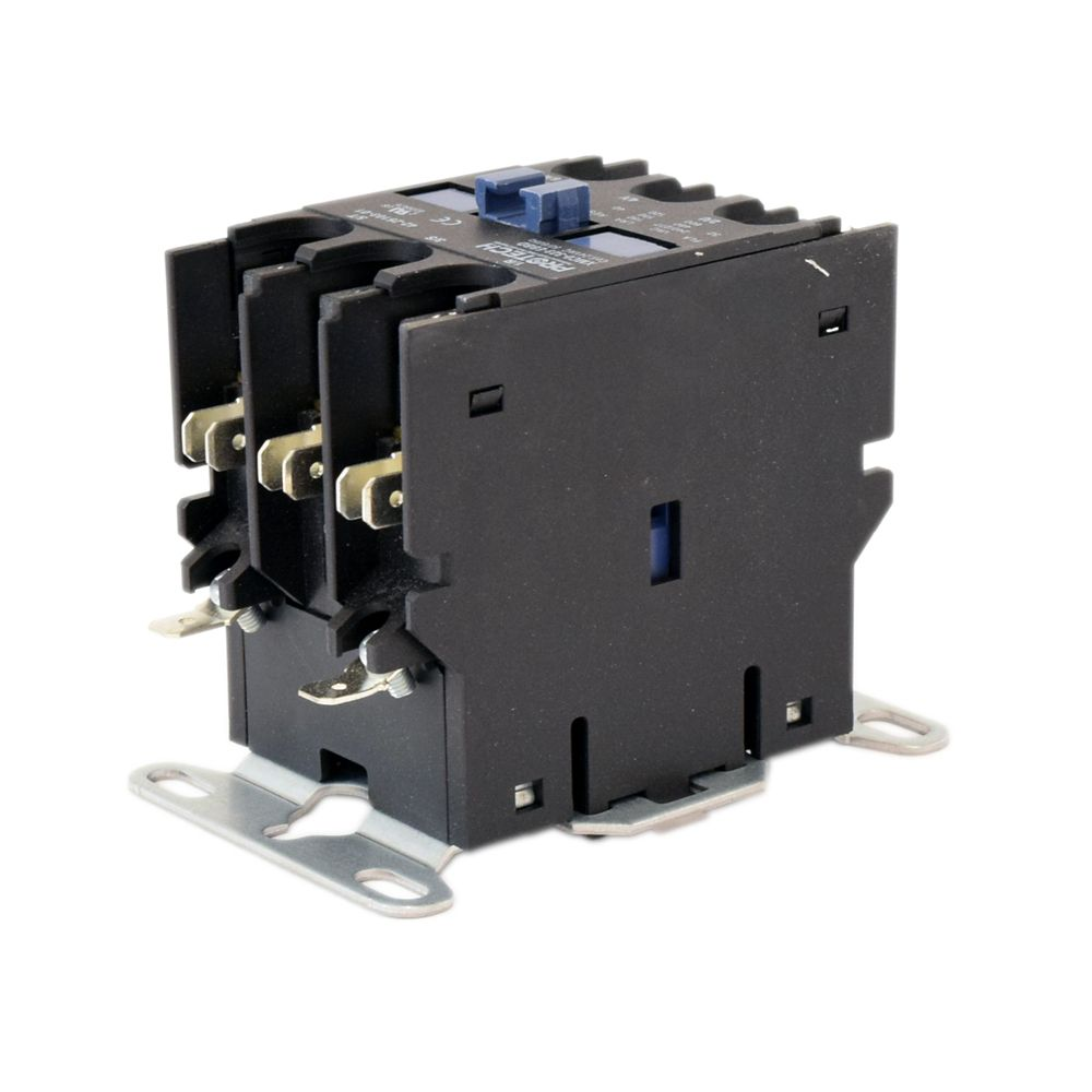Central Air Conditioner 3-Pole Contactor, 24-volt, 30-amp Part