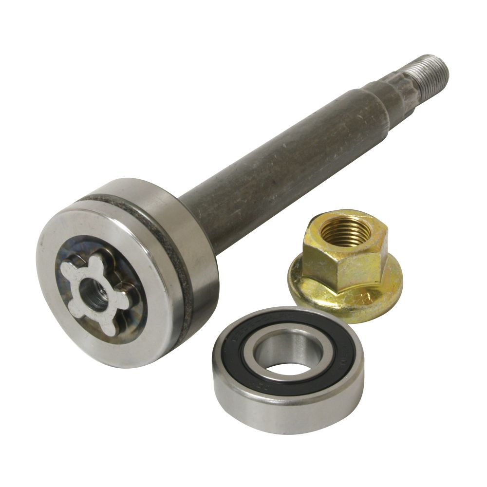Husqvarna 532137646 Lawn Tractor Mandrel Shaft Embly For Craftsman Poulan Western Auto Companion